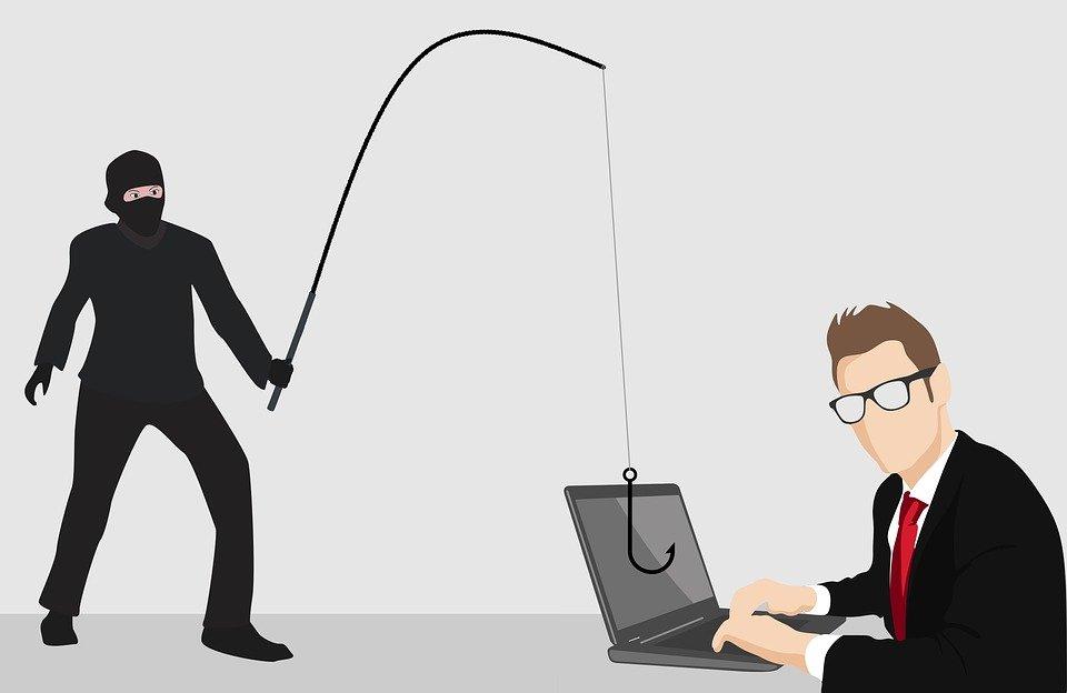 phishing laptop