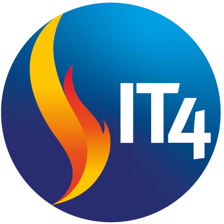 IT 4 Offices Ball Logo