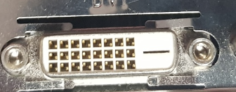 DVI-D port