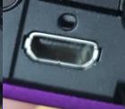Micro HDMI port