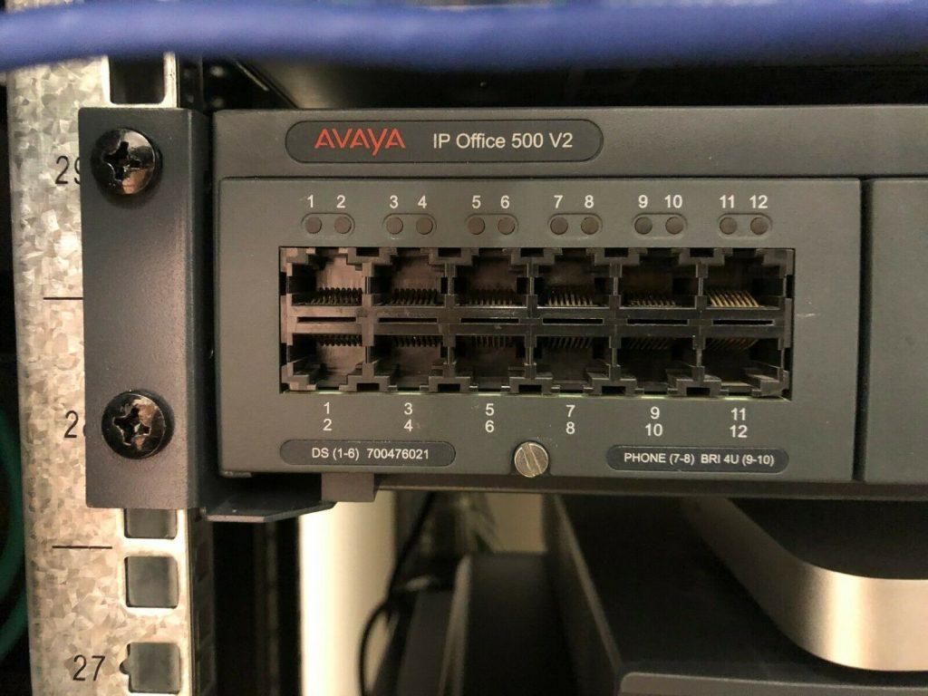 Avaya IP500 phone system